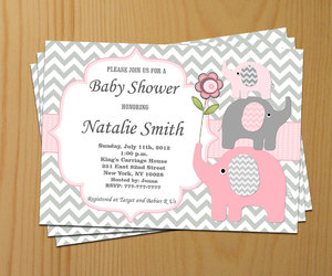 etsy, elephant baby shower, and boy baby shower image