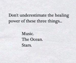 heal, music, and stars image