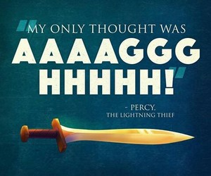 percy, quote, and pj image