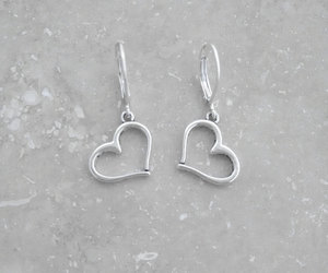 earrings, etsy, and style image