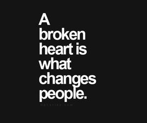 change, broken, and heart image