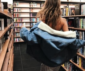 book, girl, and fashion image