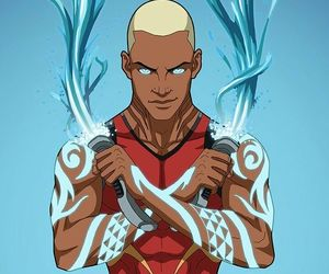 art, DC, and aqualad image