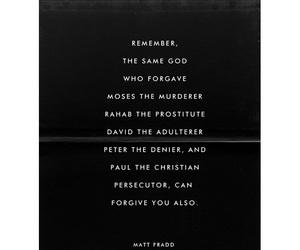 faith, forgiveness, and god image