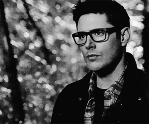 dean winchester, glasses, and Hot image