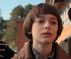 stranger things, noah schnapp, and finn wolfhard image