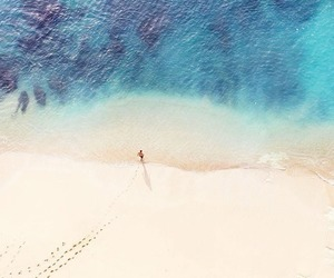 bali, beach, and ocean image