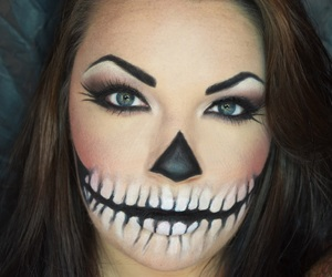 halloween costumes, dia de muertos, and makeup image