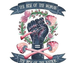 feminism, woman, and girl power image