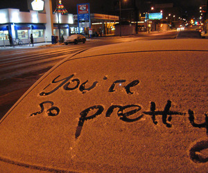 pretty, car, and snow image