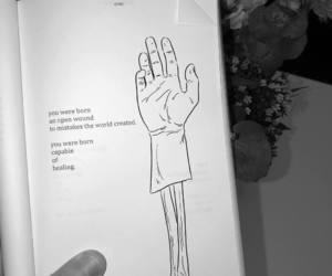 book, poem, and books image