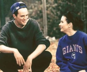 friends, chandler, and monica geller image