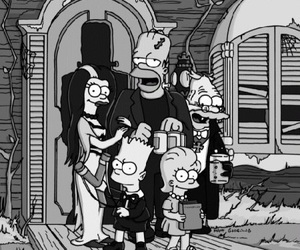 simpsons, Halloween, and the simpsons image