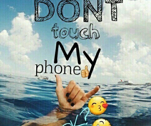 dont touch my phone emoji