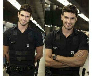 handsome, Hot, and police image