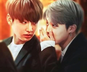 fan art, bts, and jikook shipper image