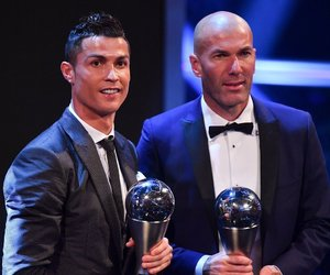 cristiano ronaldo, the best, and zinedine zidane image