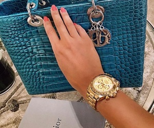 dior, style, and watch image