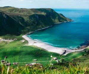 beach, nature, and north image