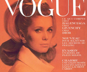 vogue, 60s, and magazine image