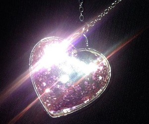 jewelry, heart, and pink image