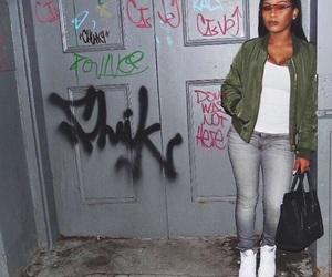 aaliyah, baddie, and frontal image