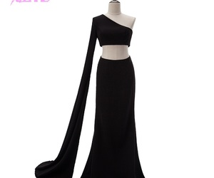 celebrity, prom dresses, and black dresses image