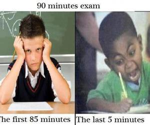 boys, funny, and school image