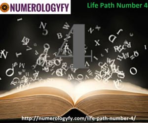 life path number 4 image