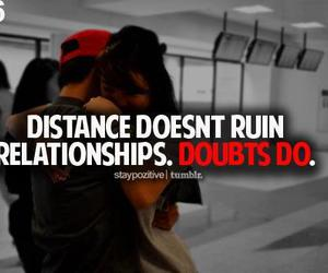 distance, Relationship, and quote image