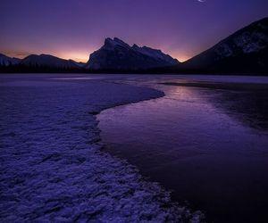 moon and purple image