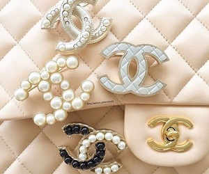 chanel, silver, and chic image