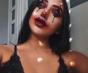 girl, Halloween, and beauty image