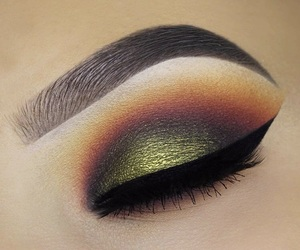 eyebrow, eyeshadow, and makeuplook image