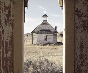 photography, southern gothic, and vintage image