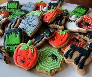 Halloween, Cookies, and fall image