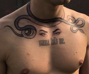 aesthetic, snakes, and body image