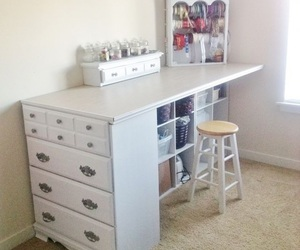 cabinet, family, and desk image