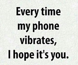 love, phone, and hope image