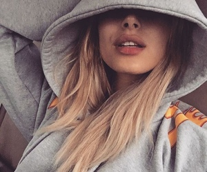 blondie, lips, and gray image
