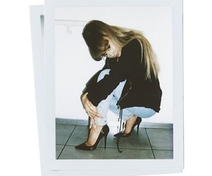 ariana grande, dangerous woman, and polaroid image