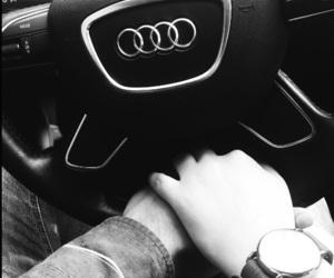 audi, boy, and car image