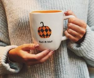 autumn, cozy, and Halloween image
