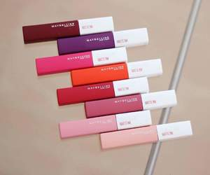 chanel, lips, and Maybelline image