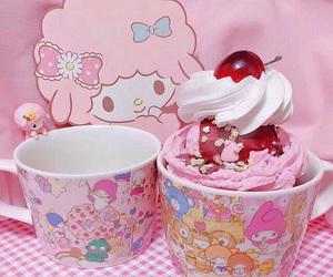 kawaii, pink, and sweets image