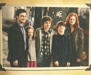 family, ginny weasley, and james sirius potter image