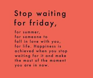 quotes, friday, and life image