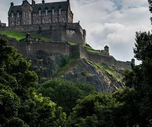 scotland, castle, and edinburgh image