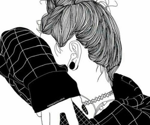 46 Images About Drawing Girl Dessin De Fille On We Heart It