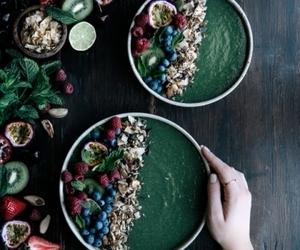 berries, food, and asai bowl image